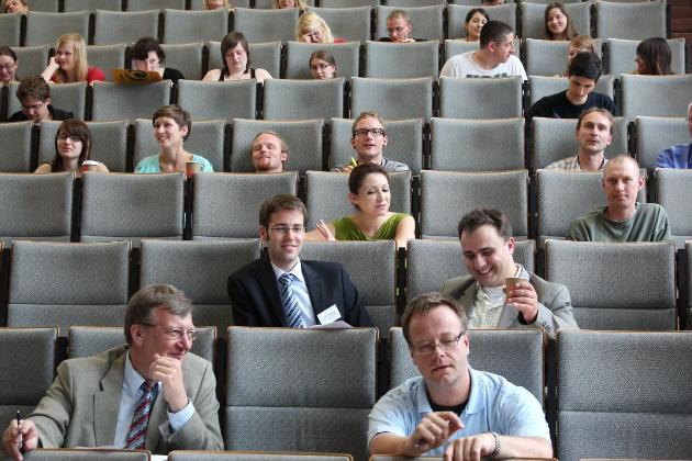 Plenarsitzung in der Westsächsischen Hochschule, Zwickau